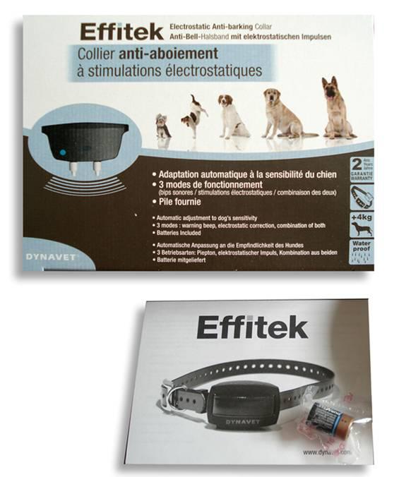 Collar antiladridos Effitek