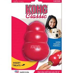 Kong clásico rojo