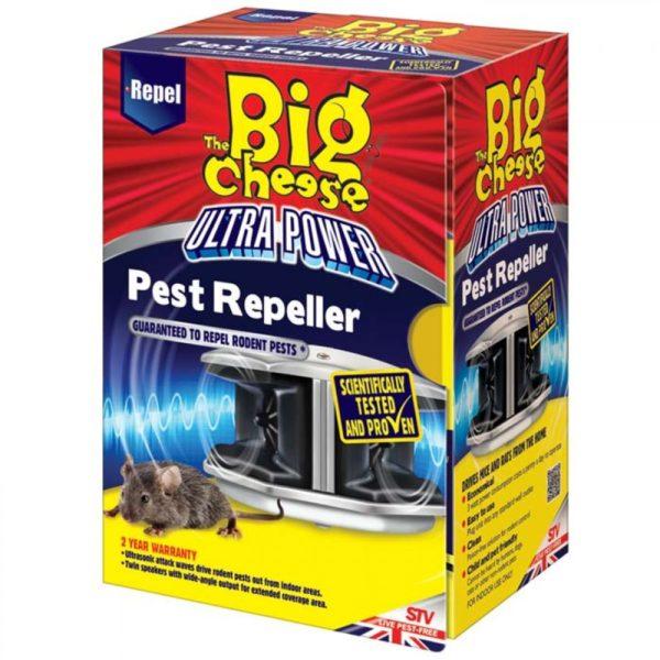 Repelente ultra potente roedores Big Cheese