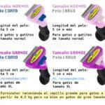 Tipos cepillo Furminator